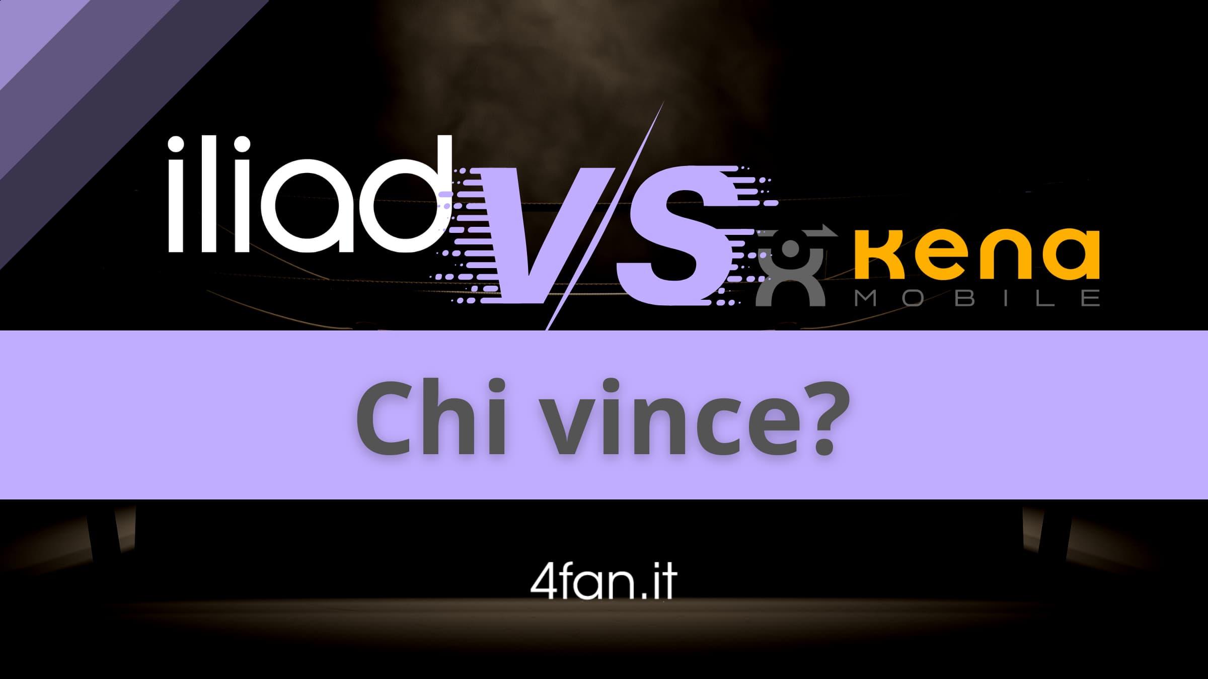 Iliad vs Kena Mobile