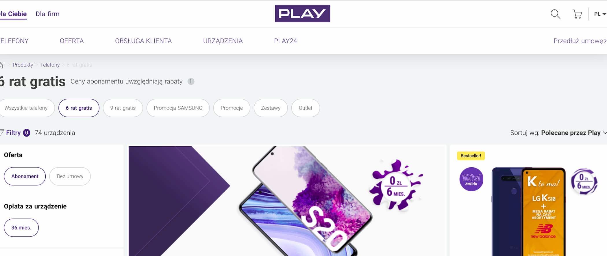 Gioca operatore telefonico Polonia