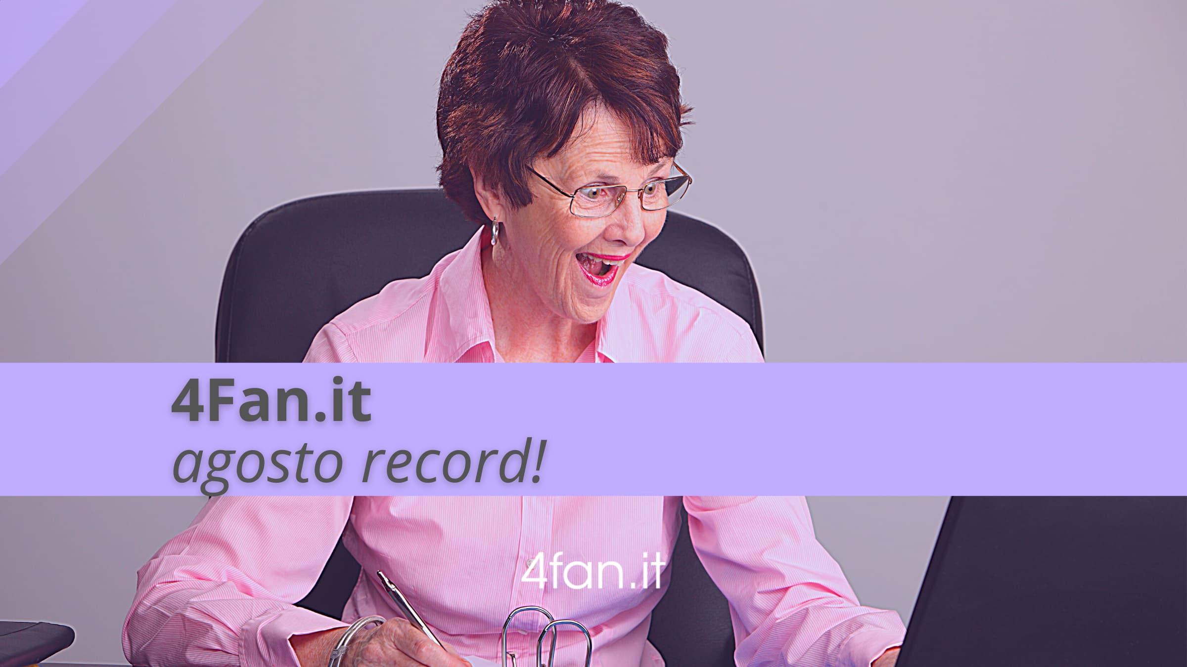 Record per 4Fan.it