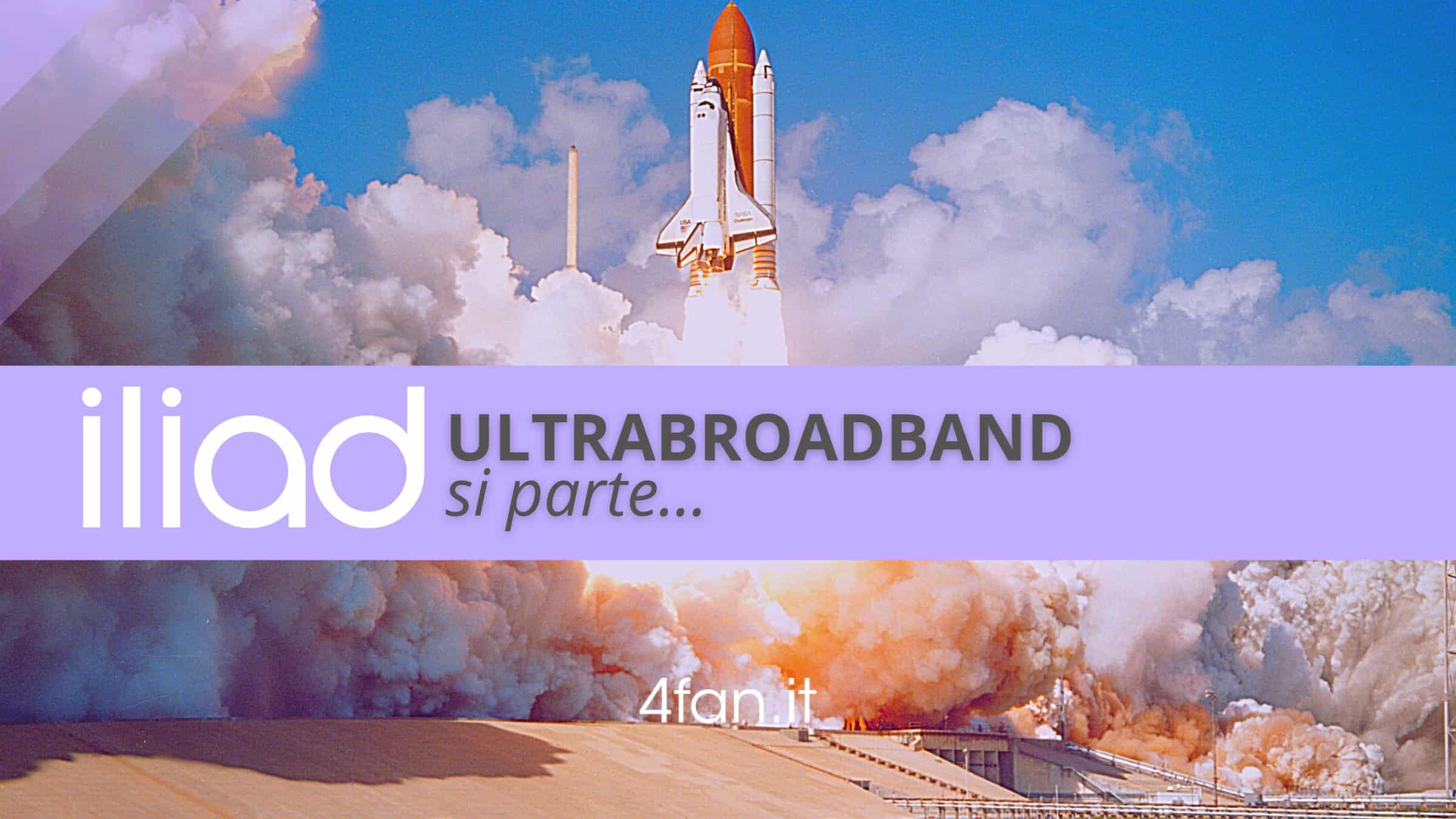 Iliad lancio broadband