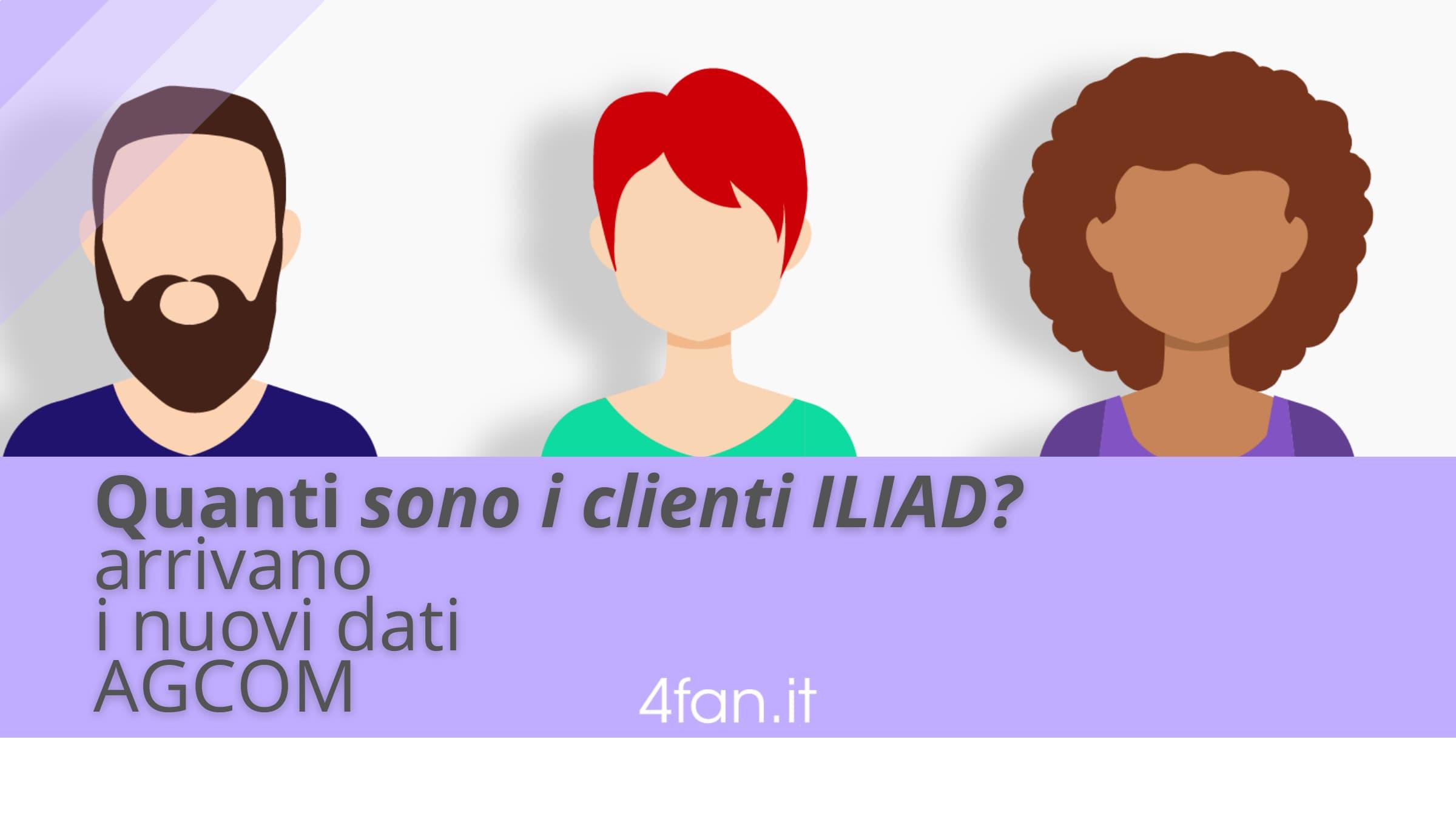 Quanti sono i clienti Iliad