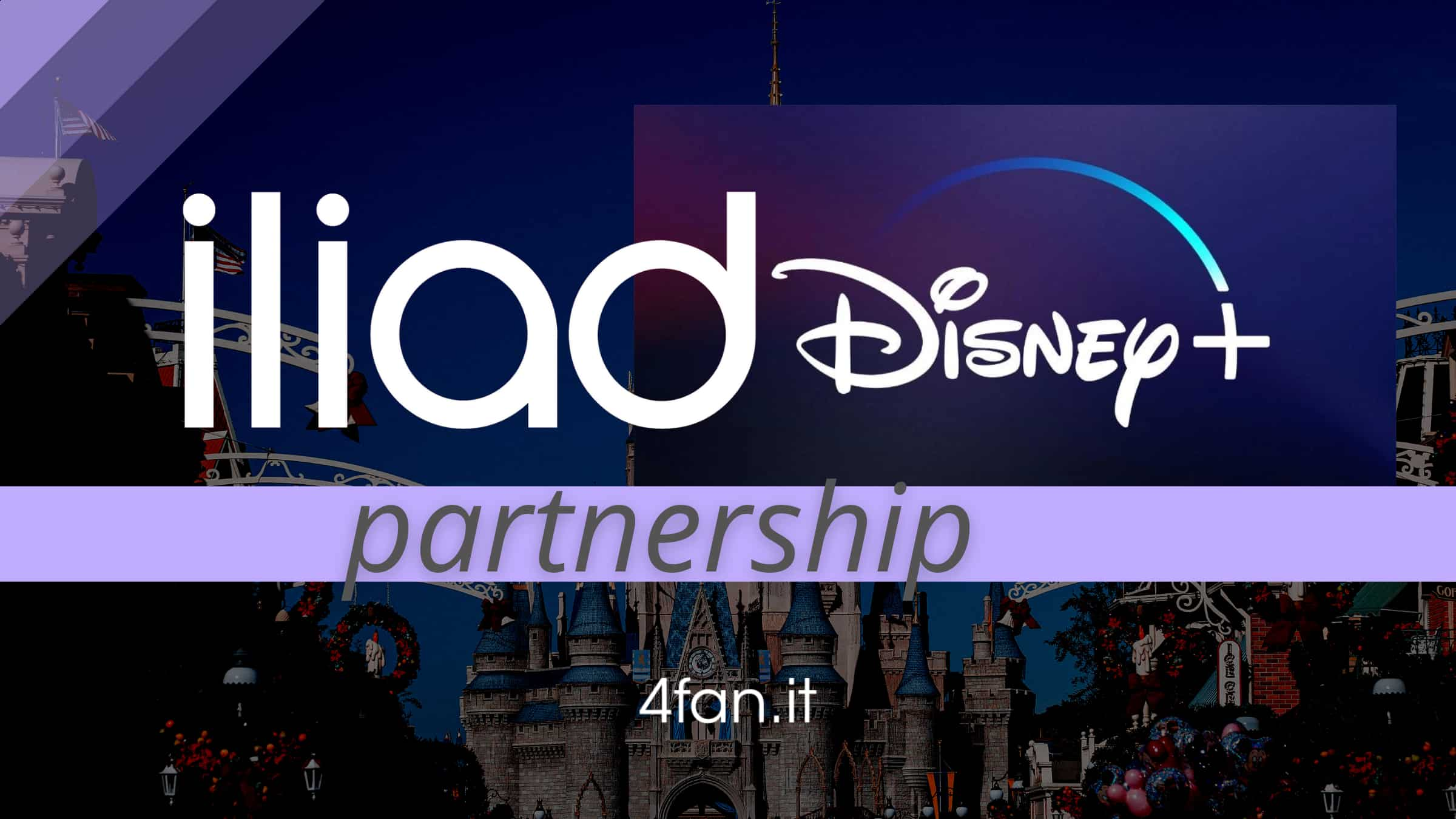 Iliad Disney Plus partnership