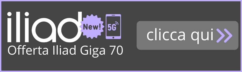 Banner Iliad Giga 70 Attivazione online