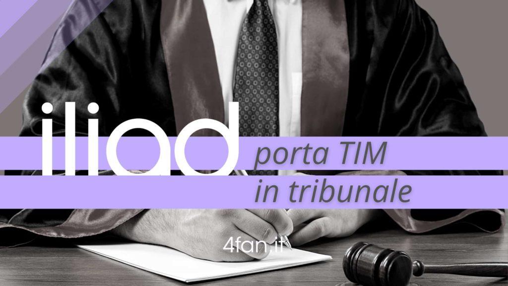 Iliad porta la Tim in tribunale. Ecco perché. Titolo dell'articolo
