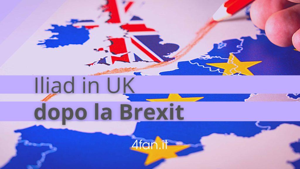 Iliad roaming UK e Brexit