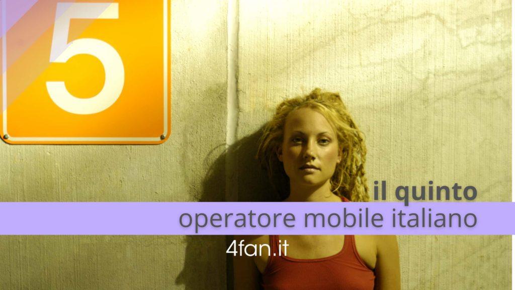 Fastweb quinto operatore mobile italiano