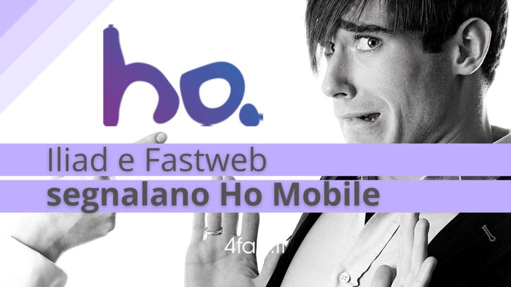 Ho Mobile, segnalazione da parte di Iliad