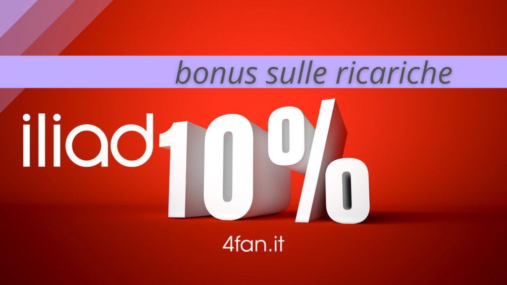 Bonus Ricariche Iliad