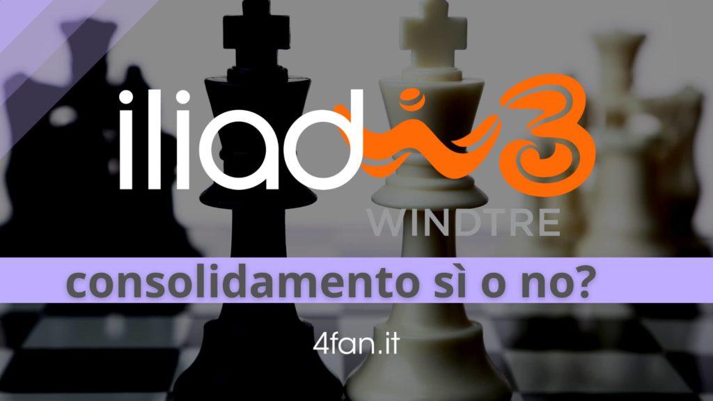 Iliad WindTre e ipotesi di consolidamento