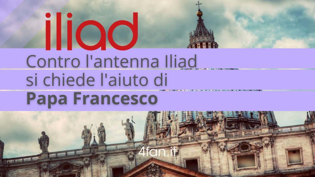 Papa Francesco nella petizione anti Iliad