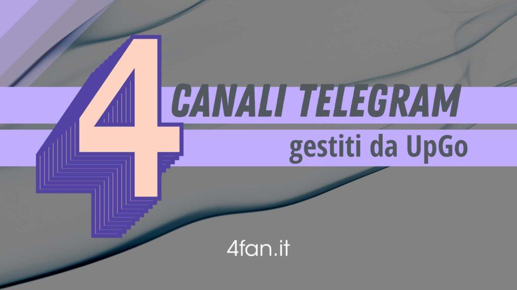 4 Canali Telegram da seguire