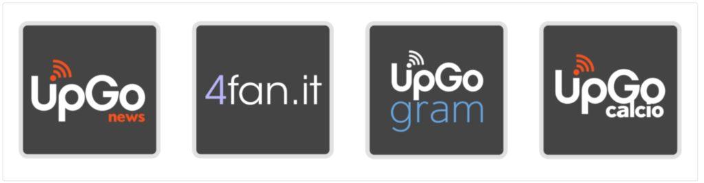 I loghi dei nostri 4 canali da seguire su Telegram