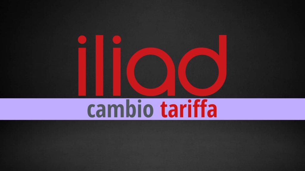 Cambiare tariffa Iliad