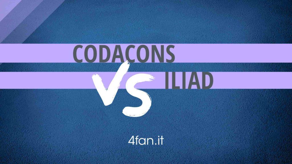 Codacons diffida iliad