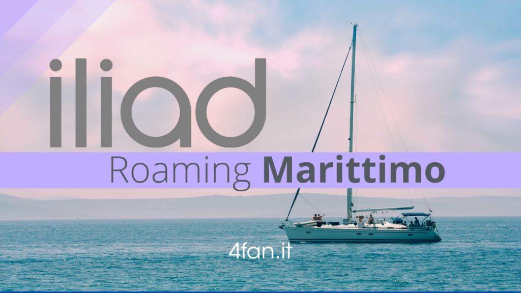 Iliad e roaming marittimo