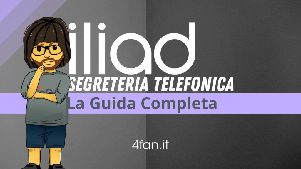 Iliad Segreteria Telefonica