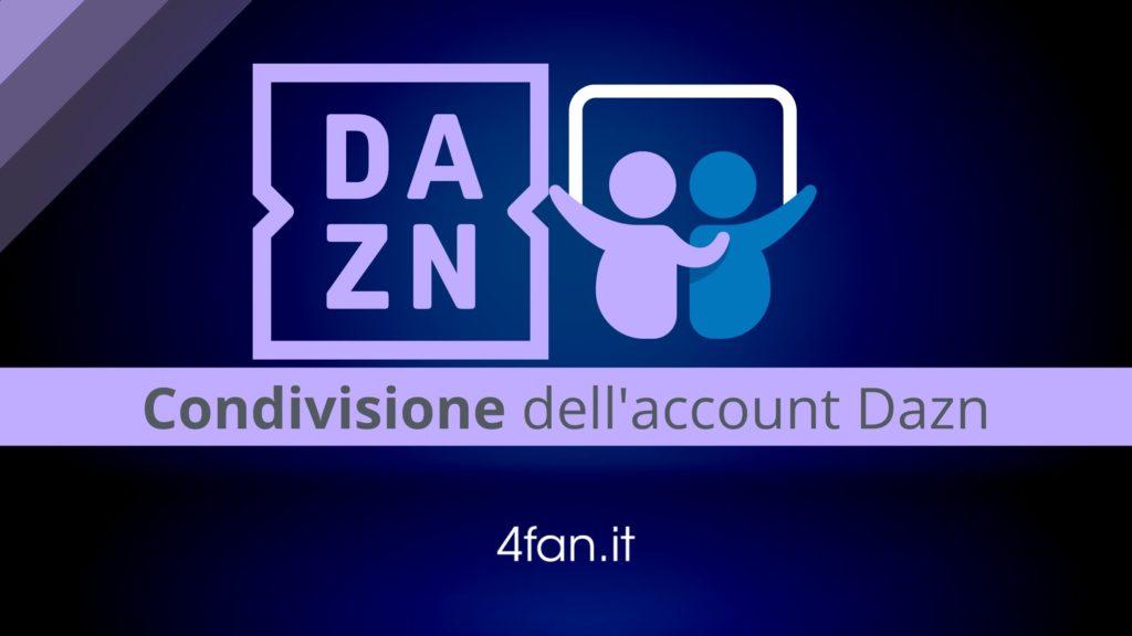 condivisione account Dazn