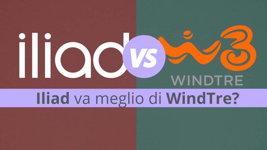 Iliad va meglio di WindTre?