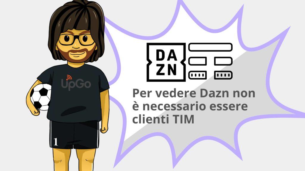 Per vedere Dazn non è necessario essere clienti di Tim