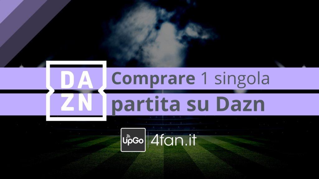 Compare una singola partita su Dazn