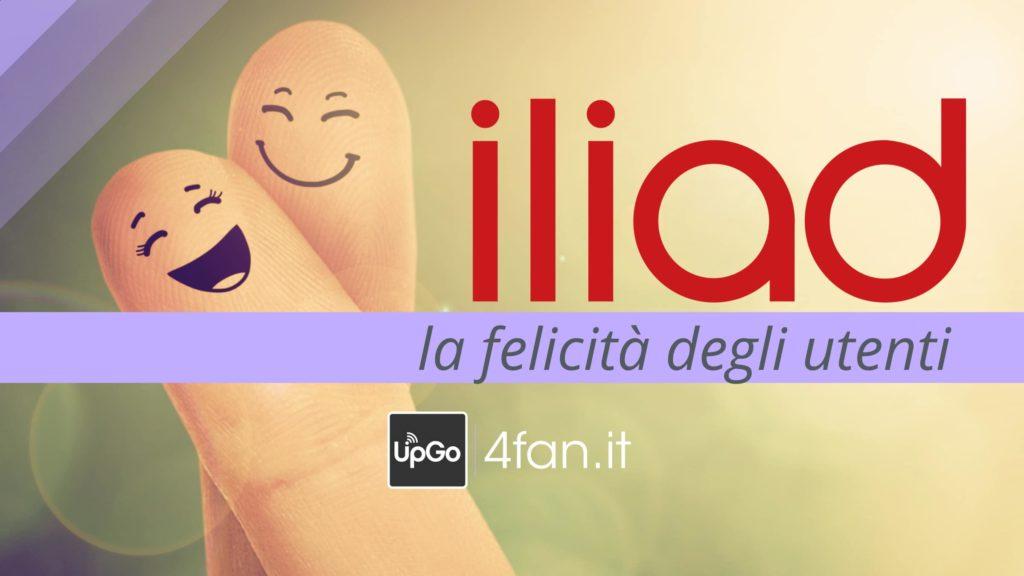 Iliad felicità degli utenti
