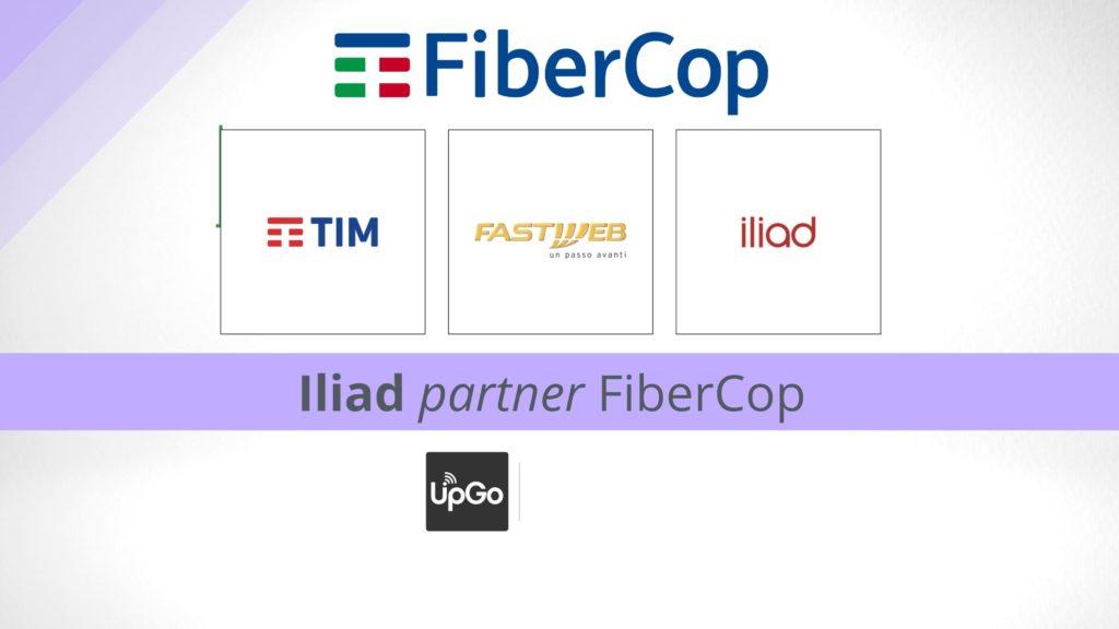 Iliad partner di FiberCop insieme a Tim e Fastweb